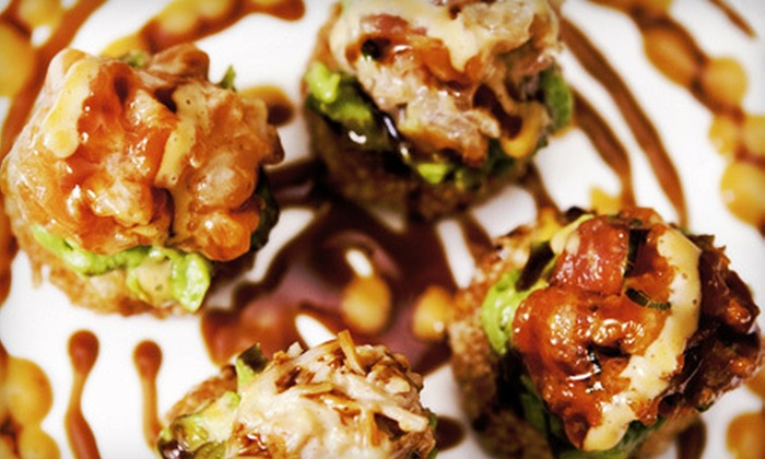 Neo World Bistro and Sushi Bar - Mount Kisco: $15 for $30 Worth of Asian Fusion Cuisine with Free Bottle of Sake at Neo World Bistro and Sushi Bar