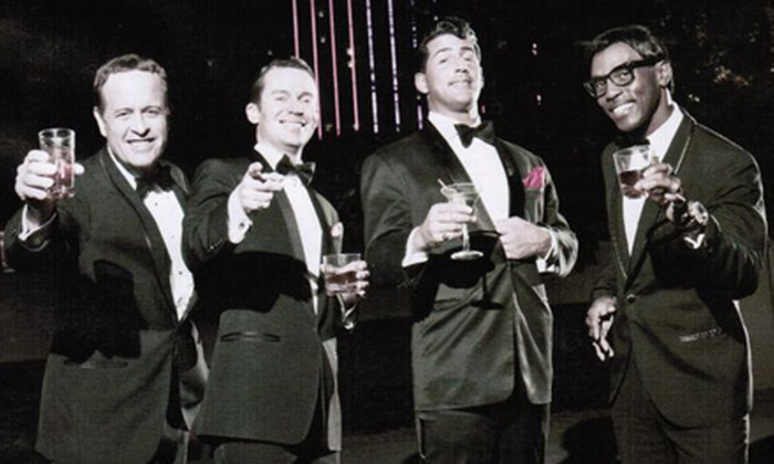 "The Rat Pack Is Back! - Paradise: $39 for a VIP Ticket to ""The Rat Pack is Back"" at Crown Theater at Rio Las Vegas Nightly at 7 p.m. (Up to $77.75 Value)"
