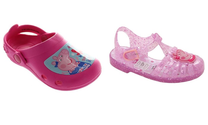 ea3ba7733ba8 Girls  Peppa Pig Summer Shoes