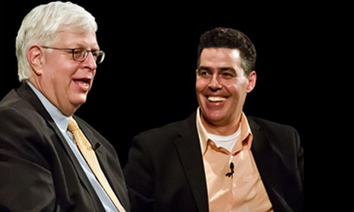 Adam Carolla and Dennis Prager  - Comerica Theatre: $23 for One G-Pass to See Adam Carolla and Dennis Prager at Comerica Theatre on July 14 at 8 p.m. (Up to $46.50 Value)
