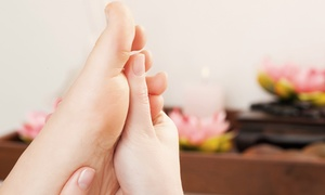 Total Release: Acupressure Treatments with Reflexology or Hot Stones at Total Release (Up to 50% Off). Two Options Available.
