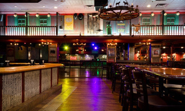 Cowboys Saloon - Davie: Classic Smokehouse Cuisine and Drinks for Two or Four at Cowboys Saloon (Up to 64% Off)