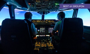 Flight Simulators Midlands: Flight Simulators Midlands: One-Hour Boeing 737, 747, or Airbus A320 Experience (Up to 53% Off)