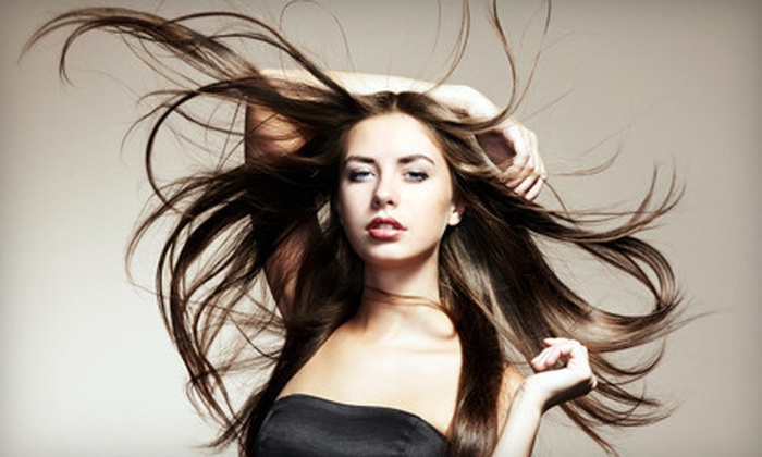 Blondie's Salon - Shafer Plaza: Haircut with Conditioning or Highlights at Blondie's Salon (Up to 71% Off)