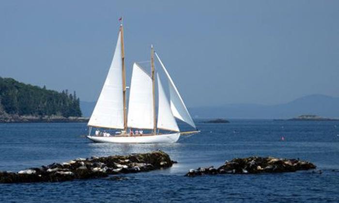 Schooner Yacht Heron - Schooner Yacht Heron: $59 for $100 Worth of Sailing — Schooner Yacht Heron