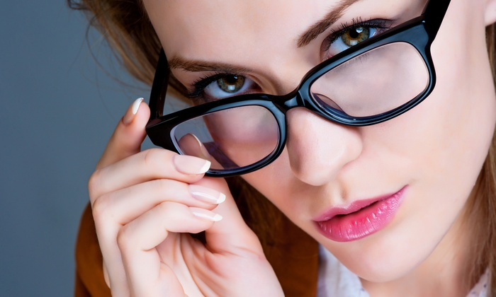 Ultra Vision Optical - Levittown: $39 for $275 Towards Eye Exam and Prescription Glasses at Ultra Vision Optical Center