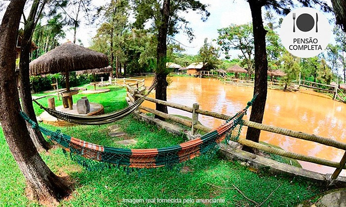 Hotel Fazenda Recanto Betim - Hotel Fazenda Lago dos Cisnes: Mateus Leme/MG: até 4 noites a 2 no Hotel Fazenda Recanto Betim