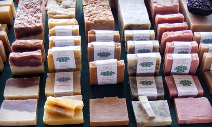 Green Lotus Organics - Riverside: One or Two Soap-Making Classes with Option for Lotion-Making Classes at Green Lotus Organics (Up to 60% Off)