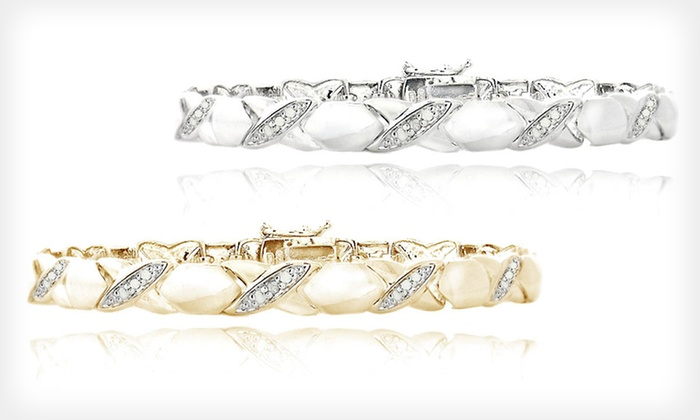 XO Sterling-Silver Bracelet : $19 for a Sterling-Silver or Gold-Plated Sterling-Silver Bracelet ($99.99 List Price). Free Shipping and Free Returns.
