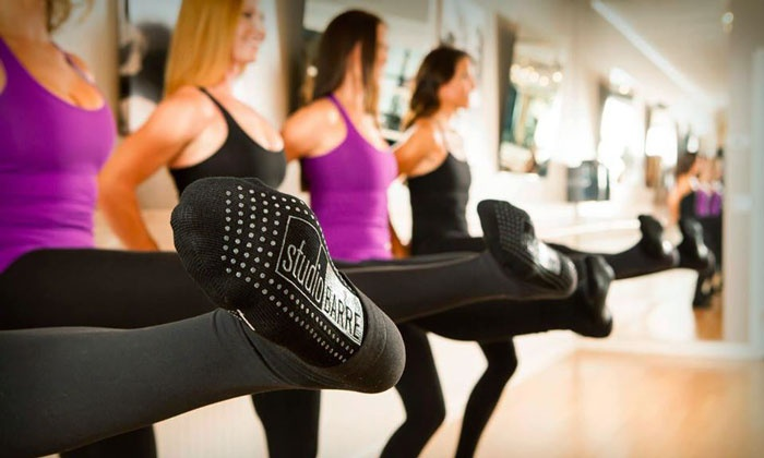 Studio Barre - Mission Hills: Five Barre Fitness Classes or Two Weeks of Unlimited Barre Fitness Classes at Studio Barre (Up to 59% Off)