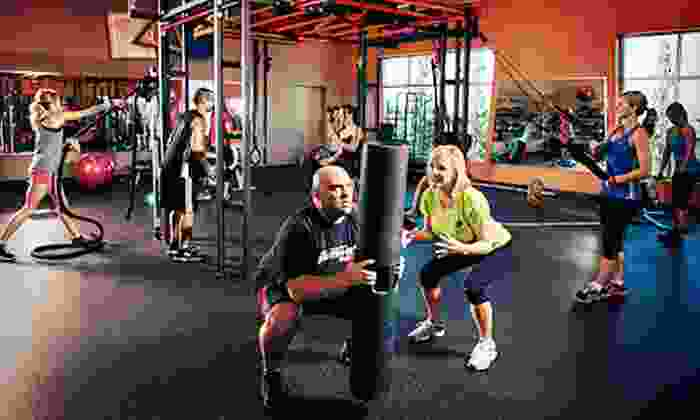 California Family Fitness - Multiple Locations: $39 for a One-Month Family Membership with Personal Training and Tanning at California Family Fitness ($235 Value)