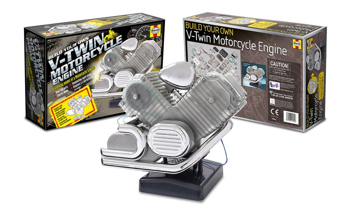 Kids 39 motorcycle engine kit groupon goods for Motor kits for kids