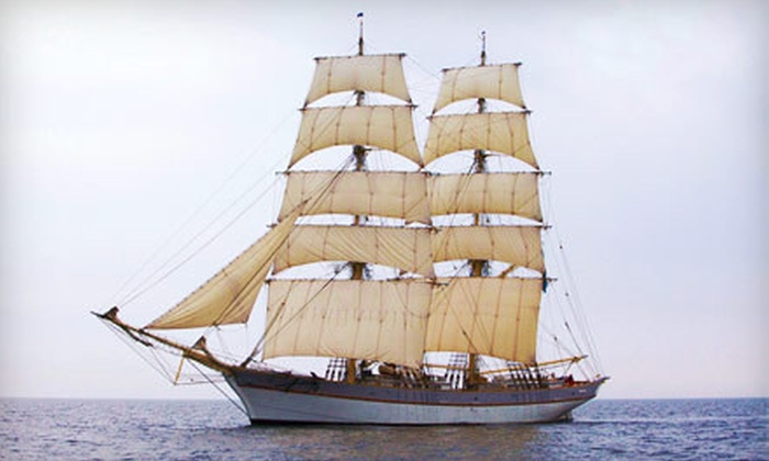 Seacoast Sailing - Portsmouth: $99 for Two-Hour BYOB Tall-Ships Sailing Excursion for Two during Harborfest/OpSail from Seacoast Sailing ($198 Value)