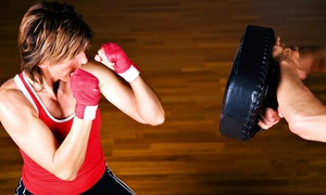 Prime Time Boxing Club: 5 or 9 Classes at Prime Time Boxing Club (Up to 74% Off)