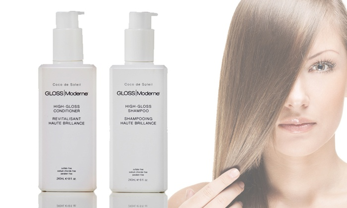 GLOSS Moderne Two-Piece Haircare Duo: $29 for a GLOSS Moderne High-Gloss Shampoo and Conditioner ($71 List Price). Free Shipping.