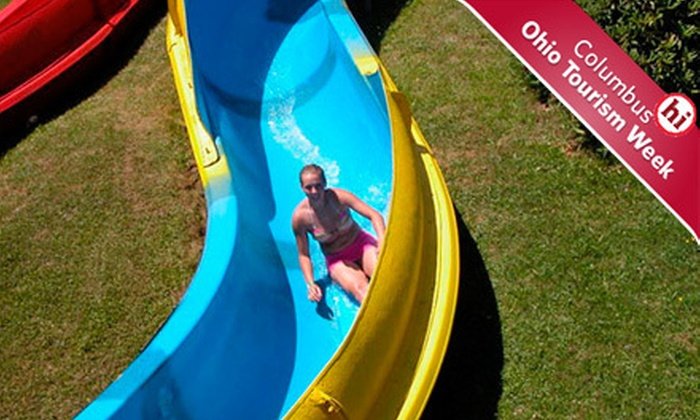 Pymatuning Adventure Resort - Williamsfield: $39 for Two Nights of Camping and Two Water Park Passes at Pymatuning Adventure Resort in 56% Off Camping Package in Pymatuning Lake Region ($88 Value)