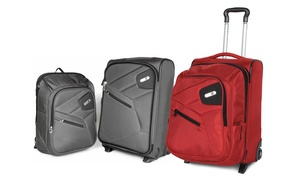 Ful Double Time, 2-in-1 Carry-on With Detachable Backpack