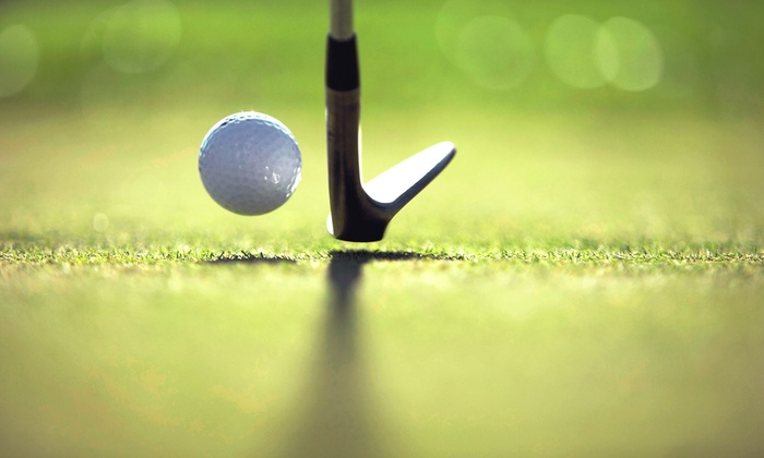 Scottsdale Golf Place - North Scottsdale: Nine Holes of Virtual Golf for Two or Four with Soft Drinks or Bottled Water at Scottsdale Golf Place (Up to Half Off)