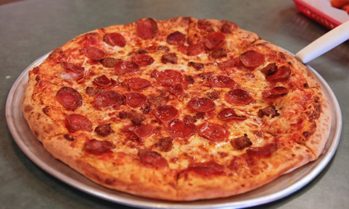 Jimmy & Joe's Pizzeria - Multiple Locations: Two Groupons, Each Good for $15 Worth of Pizza and Wings at Jimmy & Joe's Pizzeria ($30 Total Value)