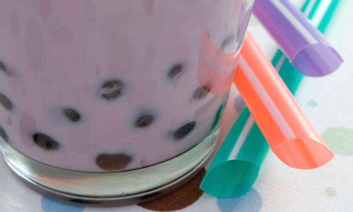 Bubble Maineia - Downtown: Bubble Tea, Dessert, and Noodles at Bubble Maineia (Half Off). Two Options Available.