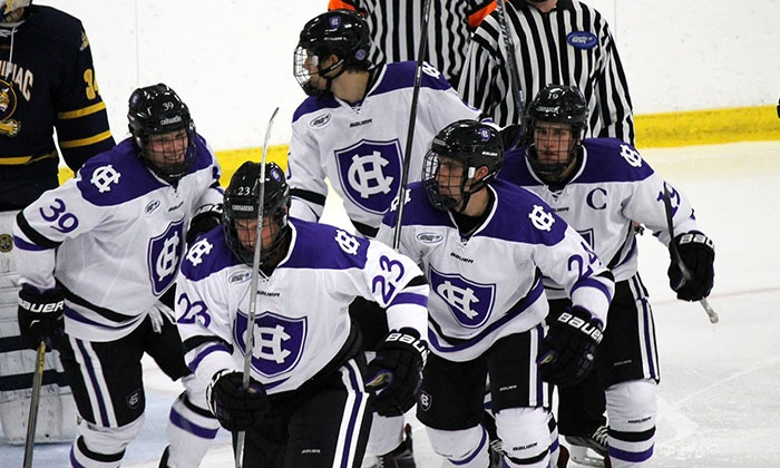 Holy Cross vs. Princeton Hockey - DCU Center: Holy Cross Men's Ice Hockey Game on Saturday, January 2, at 7:05 p.m.