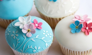 Cupcakes and Cocktails: Cupcake Decorating Class for One, Two, or Four with Cupcakes and Cocktails (51% Off)