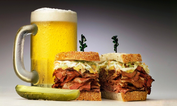 The Sports Pub - Reindahl Park: Specialty Sandwich with Beer or Soda for Two or Four at The Sports Pub (Up to 52% Off)