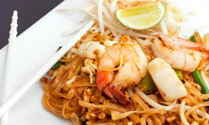 Deejai Thai Restaurant: $20 for $40 Worth of Thai Cuisine and Sushi at Deejai Thai Restaurant