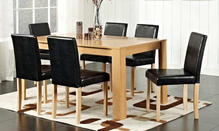 Groovy Wooden Dining Table And Chairs From 169 With Free Delivery Up To 76 Off Caraccident5 Cool Chair Designs And Ideas Caraccident5Info
