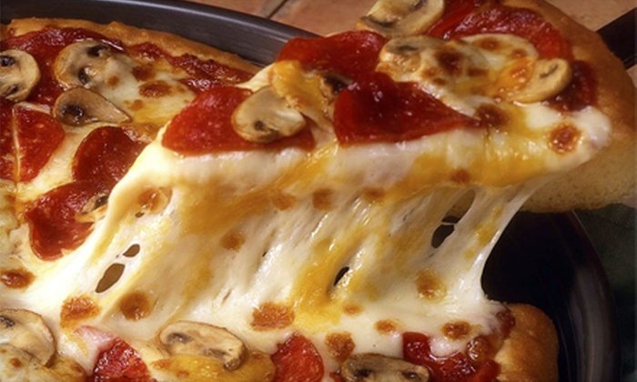 Jumbo Pizza - U Street - Cardozo: $11 for a Large Specialty Pizza and Breadsticks at Jumbo Pizza ($22.75 Total Value)