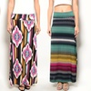 Juniors' Printed Maxi Skirts