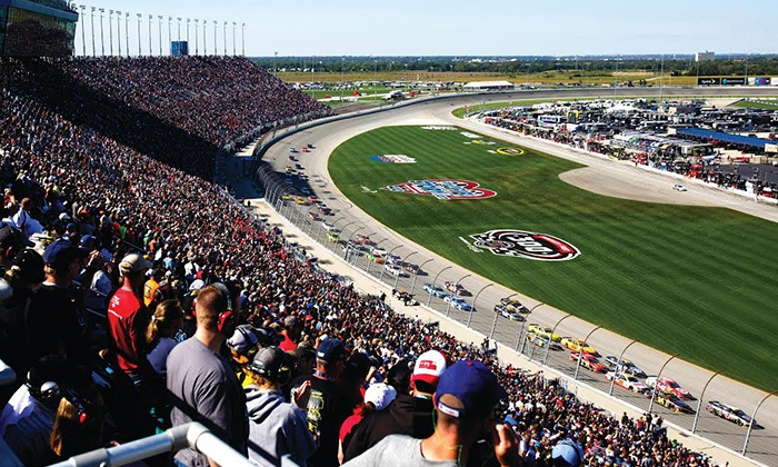 CLS Fantasy Camp or Sprint Cup - Chicagoland Speedway: 1-Day NASCAR Race Package or Exclusive 3-Day Fantasy Camp Experience During Chase Weekend at Chicagoland Speedway (Up to 70% Off)