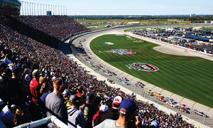 CLS Fantasy Camp or Sprint Cup: 1-Day NASCAR Race Package or Exclusive 3-Day Fantasy Camp Experience During Chase Weekend at Chicagoland Speedway (Up to 70% Off)