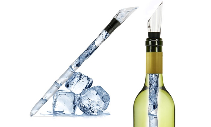 Carteret Collections Icicle Wine Chilling and Pourer System: Carteret Collections Icicle Wine Chilling and Pourer System