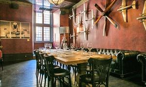 toNY Good Food: Menu italiano con 4 portate e bottiglia di vino a Piazza Venezia (sconto fino a 73%)