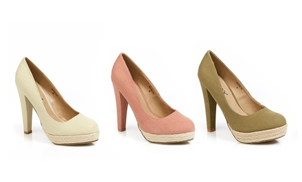Gomax Mitsu Platform Pumps | Brought to You by ideel