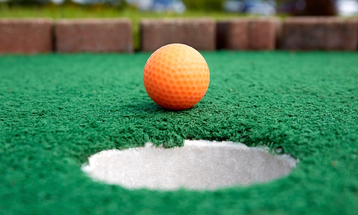 Paradise Family Golf - Middleton: Round of Mini Golf with Small Ice Creams for Two or Four at Paradise Family Golf (Up to 41% Off)