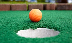 Paradise Family Golf: Round of Mini Golf with Small Ice Creams for Two or Four at Paradise Family Golf (Up to 41% Off)