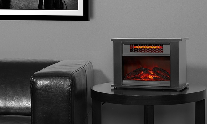 deal heater amazing electric fireplace infrared stone quartz on shop stacked