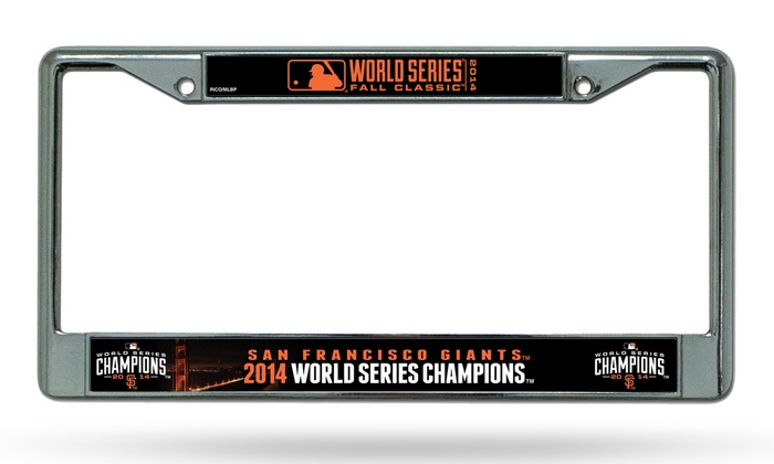 Giants License-Plate Frame | Groupon Goods