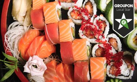 Sushi Santos — Santos: menu de degustação de sushi e sashimi com bebidas para duas pessoas por 22€