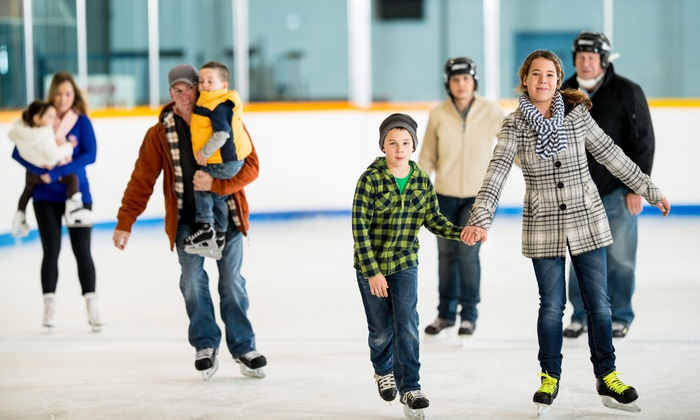 Fairfax Ice Arena - Fairfax: $10 for Ice Skating Admission for Two at Fairfax Ice Arena (Up to $17 value)