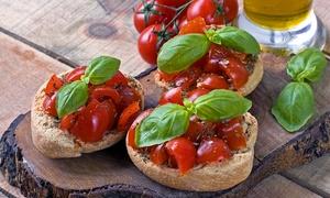 Di Puglia un Po': Degustazione di prodotti tipici pugliesi con calice di vino per 2 o 4 persone a Di Puglia un Po' (sconto fino a 66%)