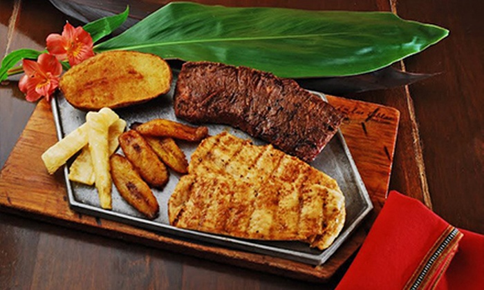 Colombian Steakhouse Dinner Las Tablas Colombian Steakhouse Groupon