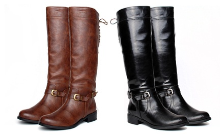 XOXO Marni Riding Boots in Black or Brown