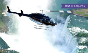 National Helicopters Inc.: Niagara Falls Helicopter Tour for 2, 4, or 6 from National Helicopters Inc. (Up to 48% Off)