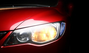 NU LOOK Auto Detaling: Headlight Restoration with Option for Winterization Wash and Wax at Nu Look Auto Detailing (Up to 53% Off)