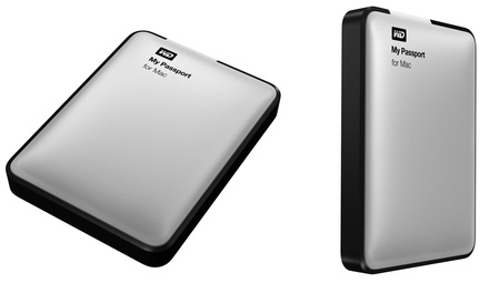 Western Digital My Passport 500GB or 1TB USB 3.0 External Hard Drive (Manufacturer Refurbished)