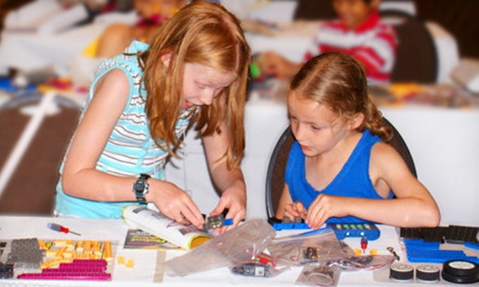Robots-4-U - Multiple Locations: $ 149 for a Five-Day Kid's Robotics Summer Camp at Robots-4-U ($ 399.95 Value)