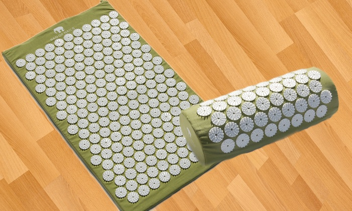 Bed of Nails Acupressure Mats and Pillows: Acupressure Mats and Pillows (Up to 46% Off). Multiple Colors Available. Free Returns.
